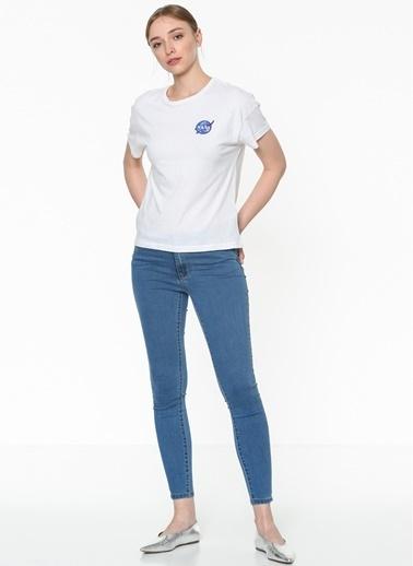 Vero Moda Jean Pantolon | Julia - Slim Mavi